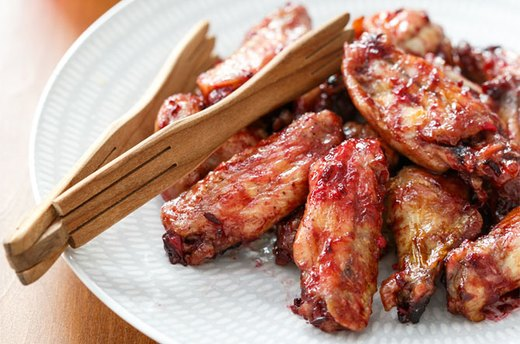 Jammin' Spicy Plum Chicken Wings