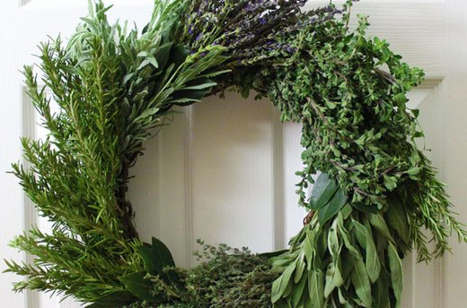 how to make herb wreaths ehow