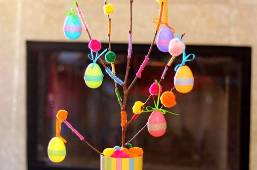 Easter Decorating Ideas: The Egg Tree