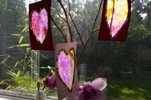 Sun Catcher Crafts for Kids