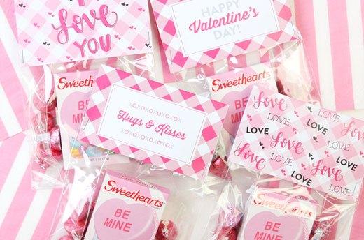 valentines goodie bags