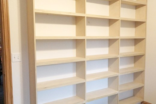 Secure Shelves to Studs