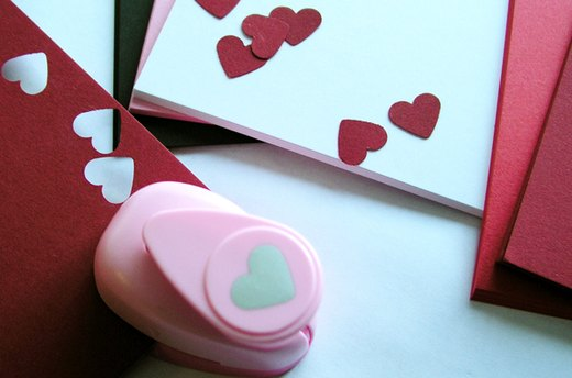 Cut Out and Decorate Hearts