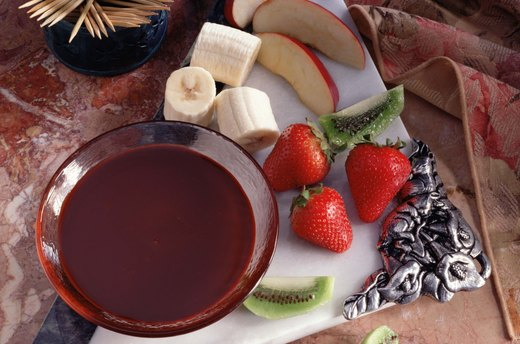 If You Have an Hour: Melt Some Chocolate and Dip Some Fruit