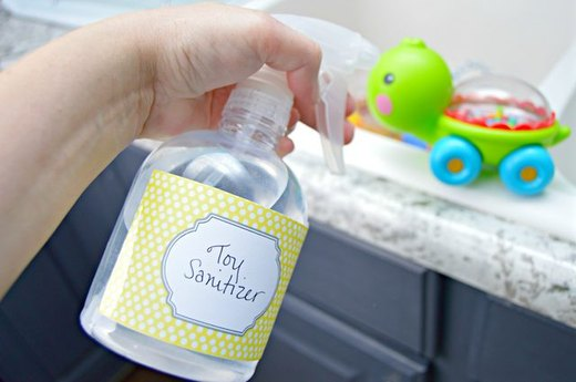 Disinfect Baby Toys
