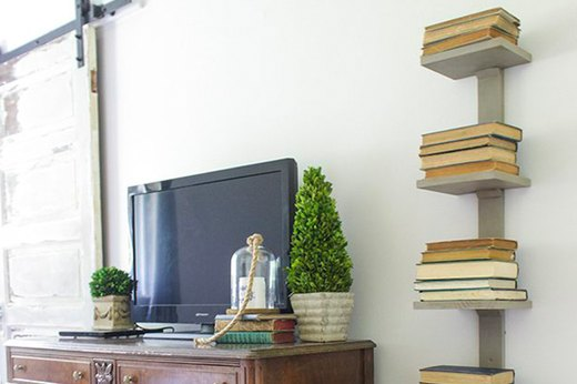 Build a Vertical Bookshelf