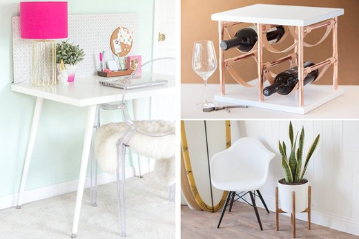 10 Mid-Century Modern DIYs to Give Your Space a Retro Update