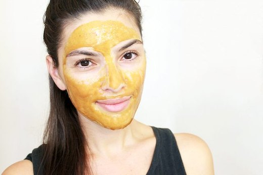 Brighten Your Complexion With a Turmeric Mask