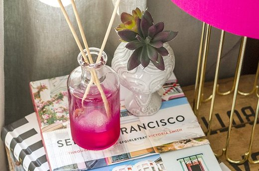 Add Ambiance With a DIY Reed Diffuser