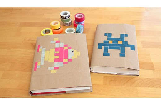 Washi Tape Book Cover Ideas : Back to school diys for parents ehow