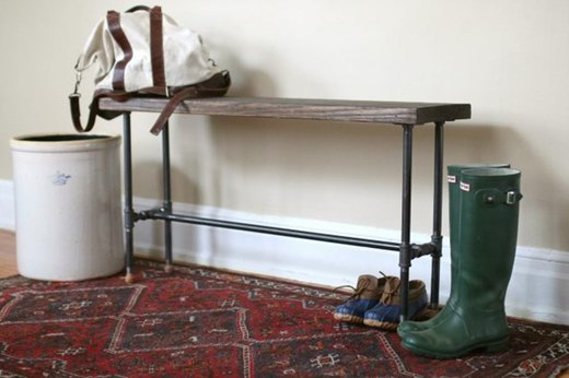 Build a Super Cool Industrial Bench Seat