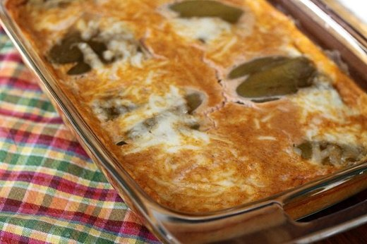 THURSDAY: Chili Relleno Casserole