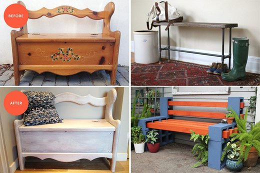 7 Super Creative Benches You Can Build