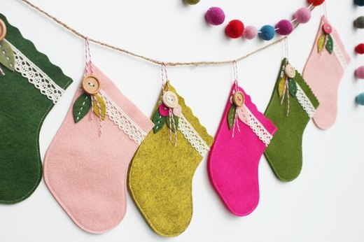 Sew a Stocking in 5 Minutes