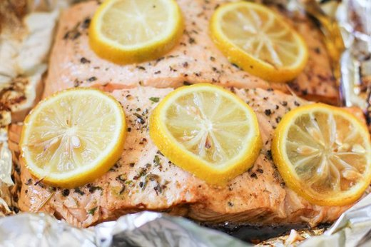 BBQ Salmon Fillets