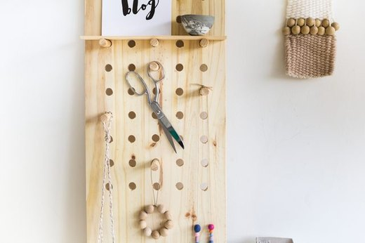 Oversized Peg Board