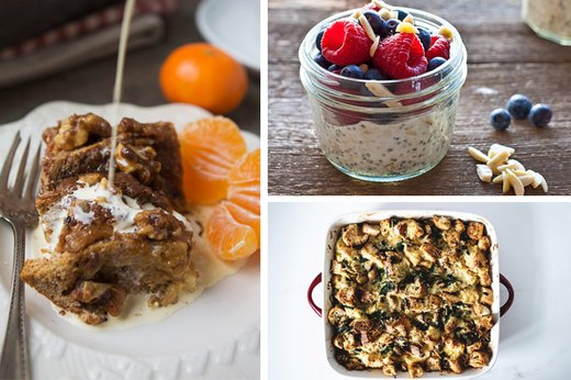 Easy and Delicious Breakfast Recipes to Make the Night Before