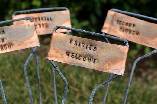 Make Garden Markers to Keep Your Plants Straight