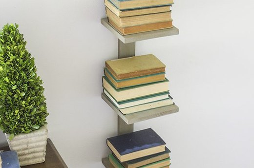 Vertical Book Shelf