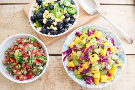 Stun Your Tastebuds With Three Fruit Salsas