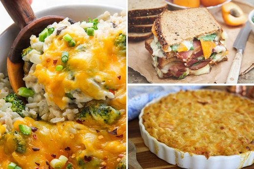 10 Recipes Featuring Cheese