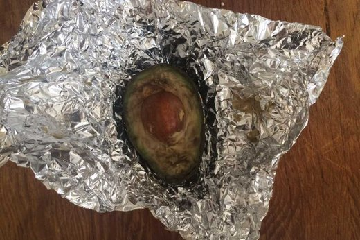 Wrapped Avocado After 10 Days