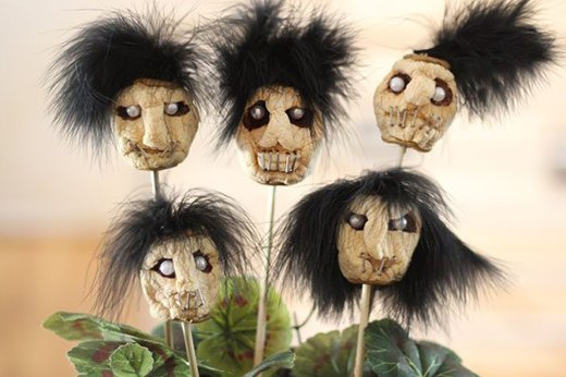 Dried Apple Shrunken Heads