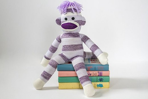 Turn Your Favorite Stuffed Animal Into a Custom Bookend