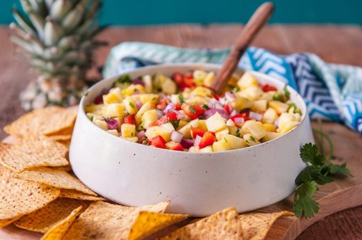 Sweeten the Deal With Pineapple Salsa