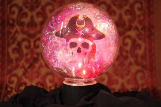 Spooky Crystal Ball