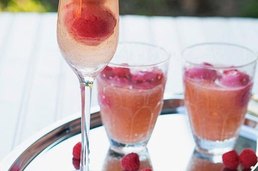 Raspberry Sorbetto Mocktail