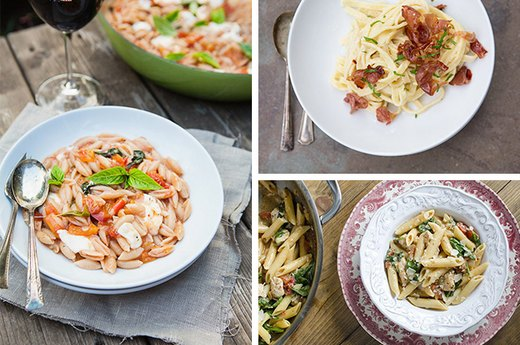 8 Quick and Easy Pasta Dishes