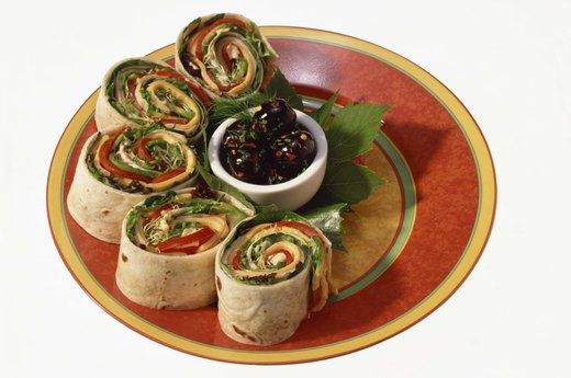 Swirly Turkey Wraps