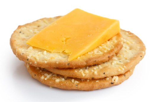4. Crackers and Cheese