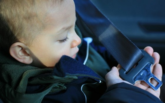Approved car seats are required in Kentucky for anyone under 40 lbs.
