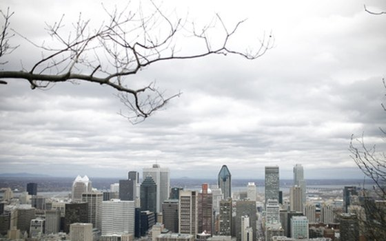 Montreal exudes the same kind of urban energy as New York.