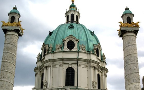 Vienna's Baroque architecture is a short bus or train ride from Prague.