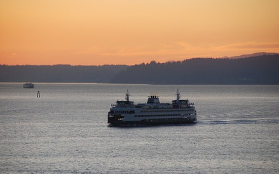 A ferry ride at sunset is even more beautiful.