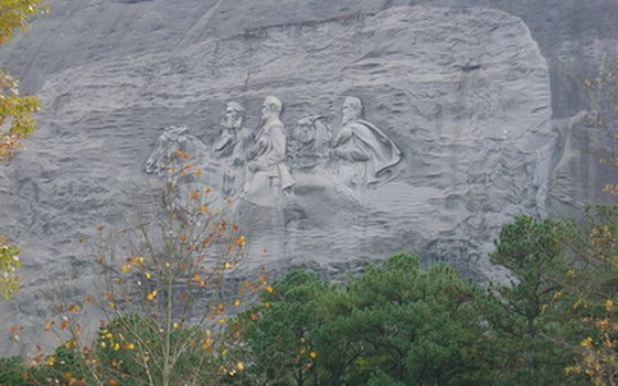 Stone Mountain Park has things to do that the whole family can enjoy.