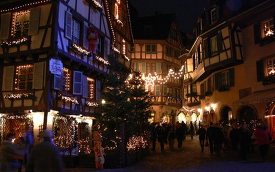 Traveling around Christmas means German Christmas markets.