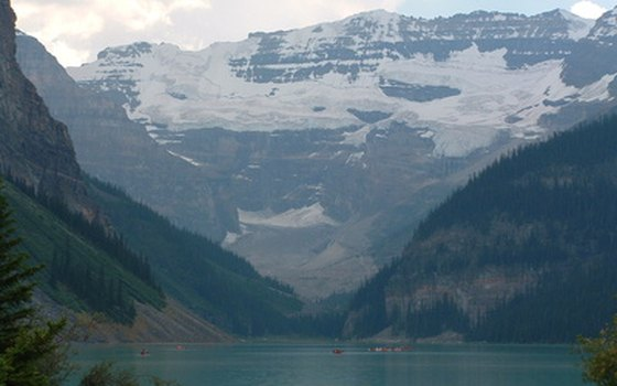 Alberta's Lake Louise is one of the most scenic sites in Canada.