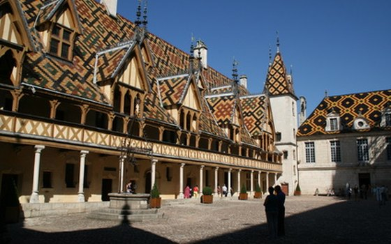 Les Hospices de Beaune inspired the world-famous annual wine auction.