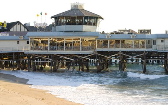 Restaurants, shops, and arcades fill Redondo Beach's pier.