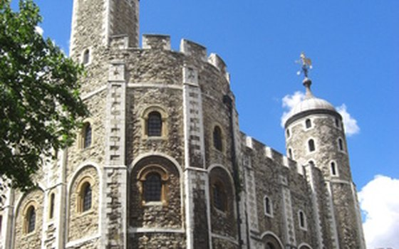 The Tower of London is a tourist favorite.