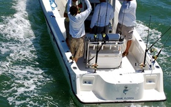 You'll need a boat for offshore fishing in Naples.