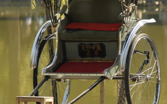 Bicycle rickshaw seat