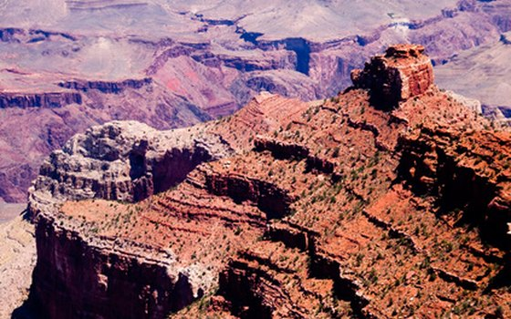 The South Rim of the Grand Canyon.