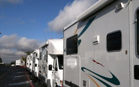 Many campgrounds feature both pull-through and back-in sites to accommodate RVs of all sizes.