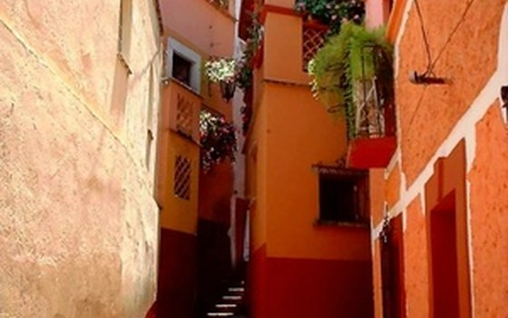 Nearby Guanajuato is a town of tiny alleys and colorful colonial buildings.