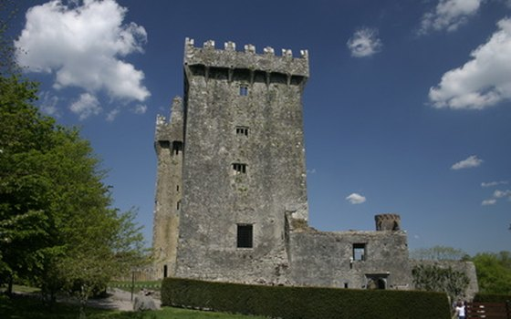 Blarney Castle is in the south of Ireland.